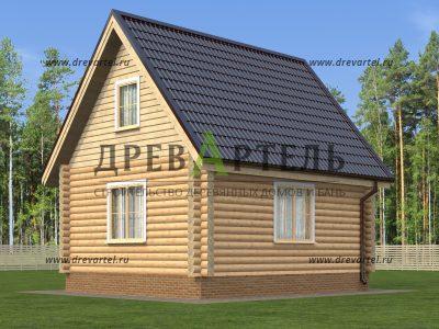 Дизайн домов из бревна снаружи
